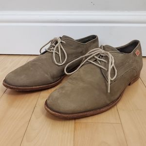 Camper Woody Suede Lace Up Oxfords 43